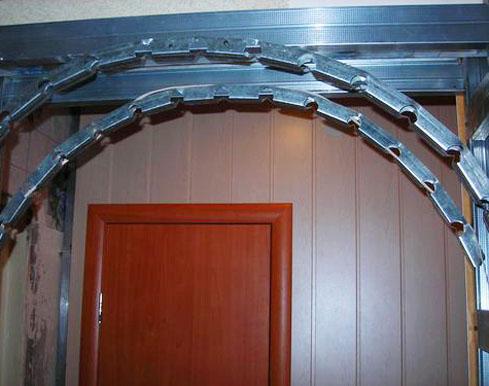 Профили для арки из гипсокартона