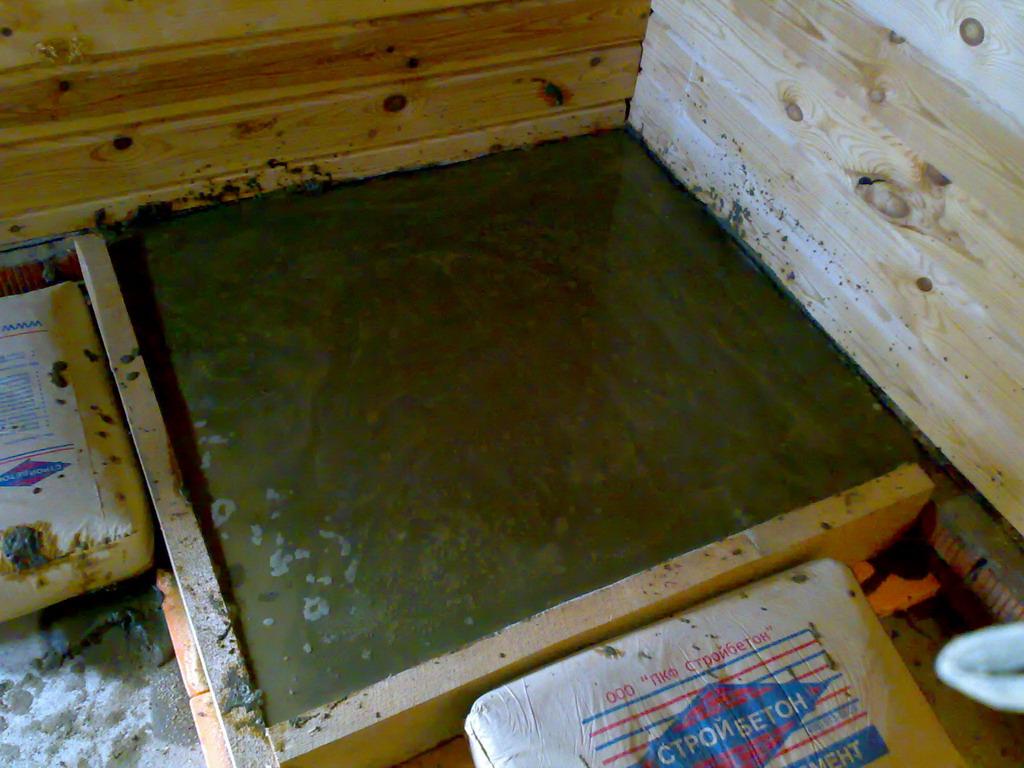 фундамент печи для бани