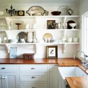 полка на кухне фото