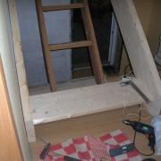 Крепление ступеней лестницы 3