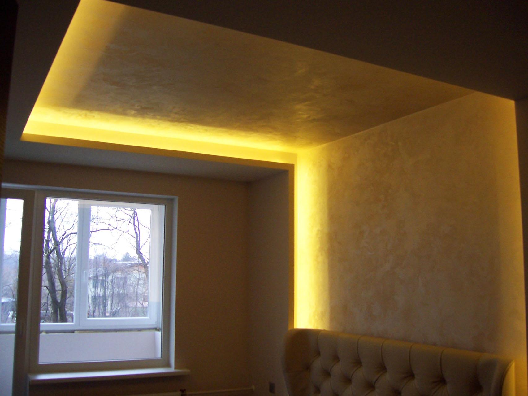 Евроремонт. Подвесной потолок с подсветкой 41
