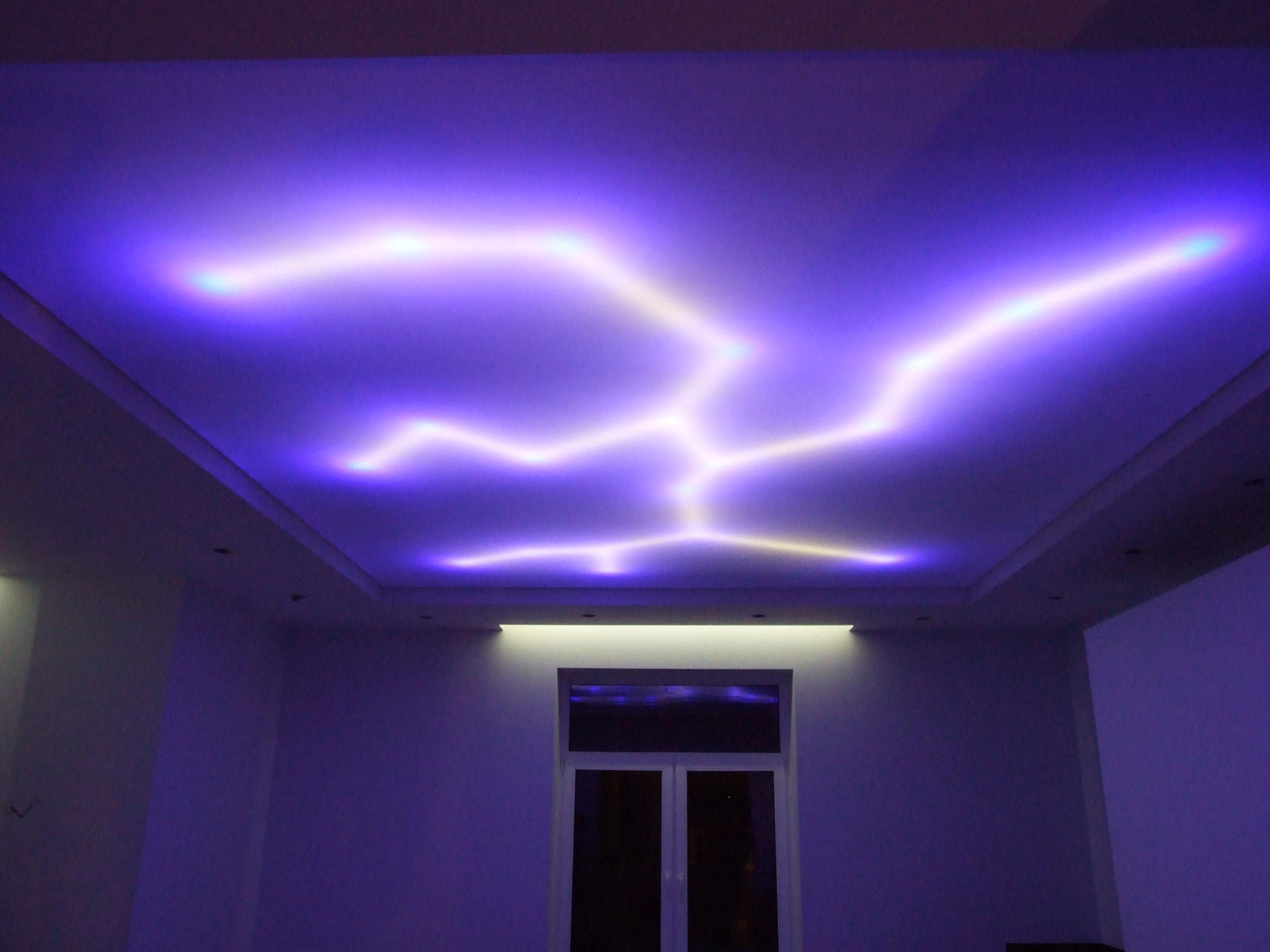 De quelle couleur peindre son plafond versailles estimation prix travaux electricite for Montage plafond suspendu placo