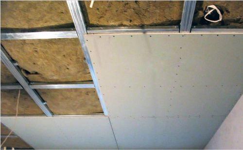 Как подшить потолок гипсокартоном своими руками 437