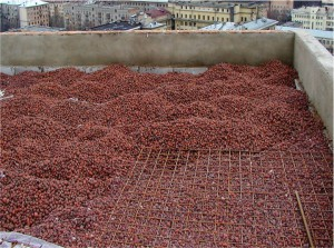 керамзит для крыши