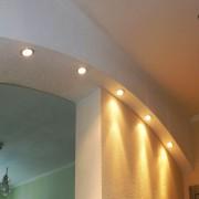 Большая арка с подсветкой