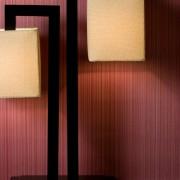 Полосатые виниловые обои фото