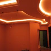 Фото светодиодная подсветка потолка