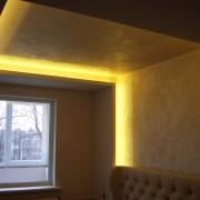 Светодиодная подсветка потолка фотография