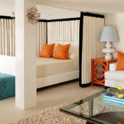 гостинная спальня в хрущевке светлая